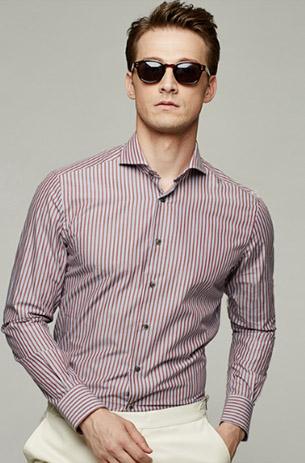 男士条纹衬衫系列
