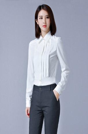 女士单色衬衫系列