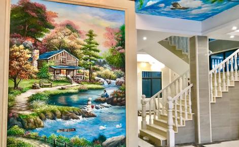 无锡墙体彩绘公司在绘画的时候怎么做才能让工作卓有成效