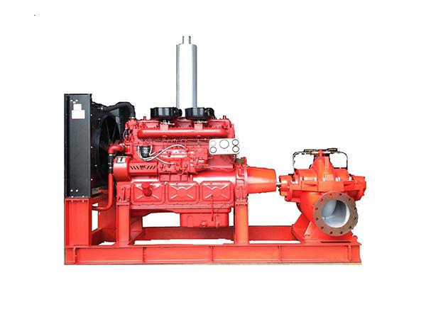 三明柴油机消防泵组