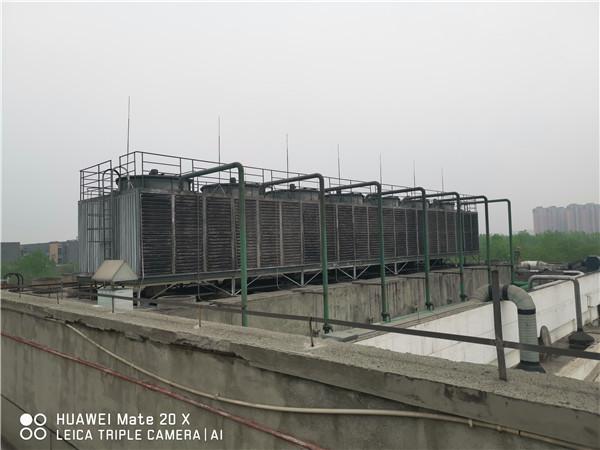 成都-方形玻璃鋼冷卻塔1400T