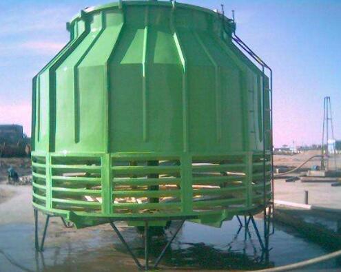 玻璃钢冷却塔耐耐高温的详细特征