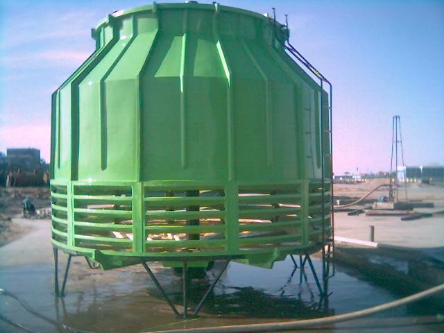 冷却塔供冷系统形成