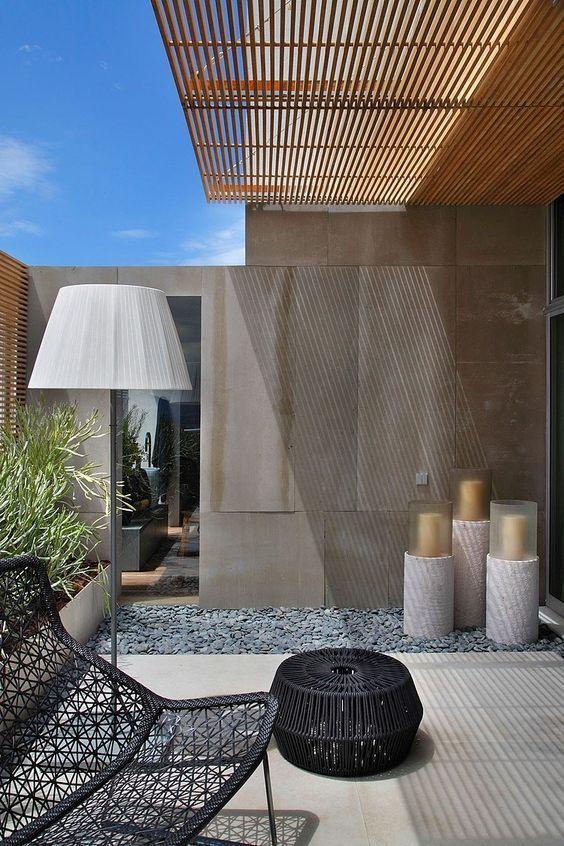 别墅庭院花园的走廊应该如何设计?