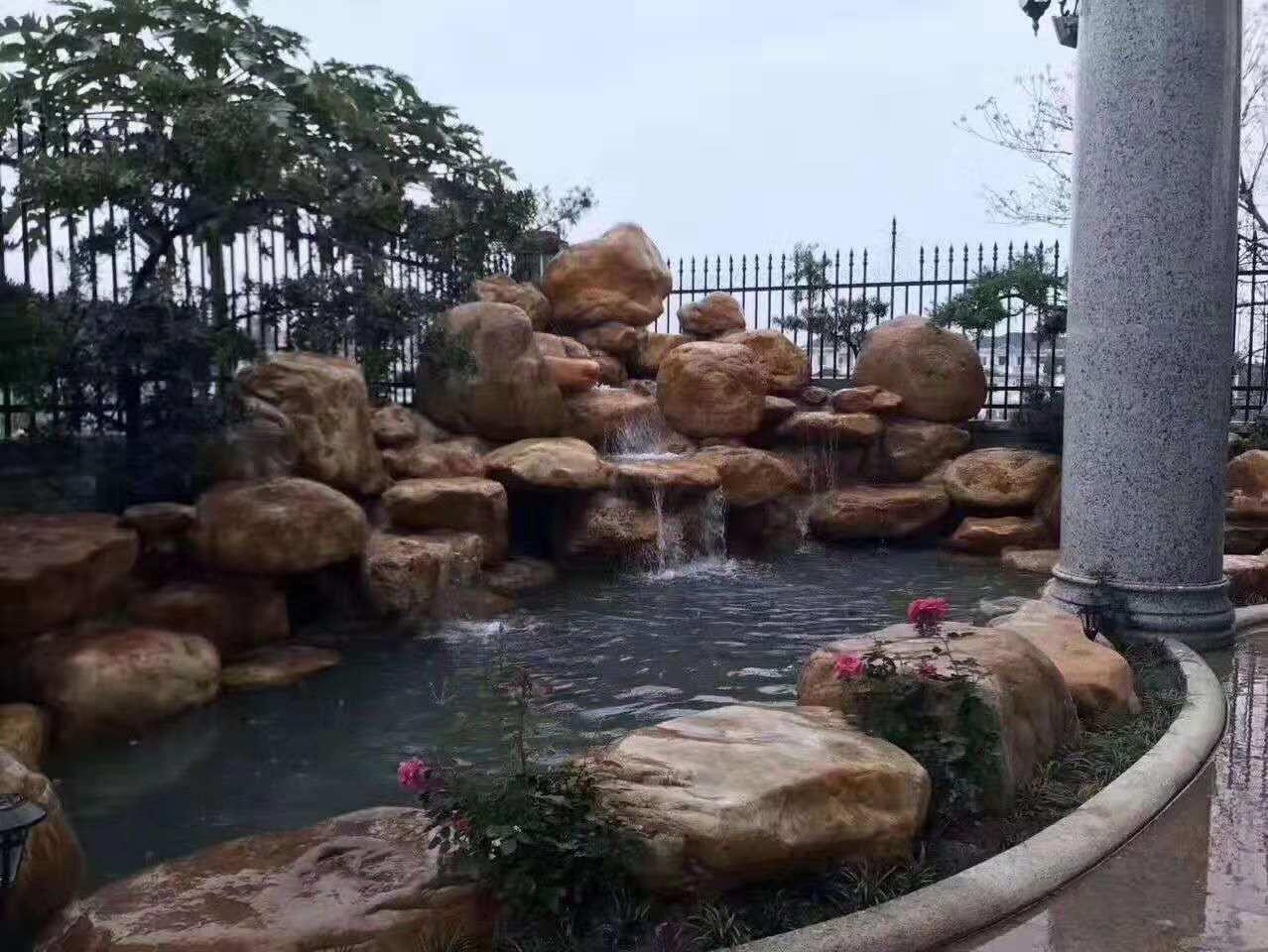 水景假山2