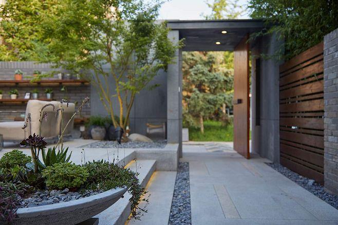 別墅庭院設計的園建有哪些類別?