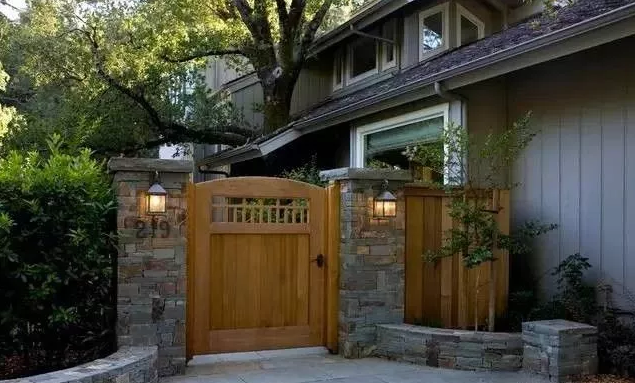 选择一款适合的庭院门,带给您诗意生活感受