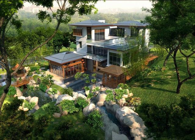 私家别墅花园设计理念