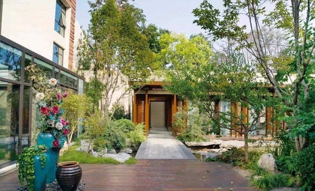 西安新中式庭院景观设计有哪些特点?