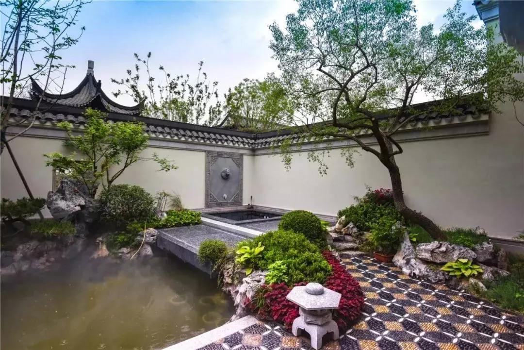 陕西西安别墅庭院,别墅庭院设计方案