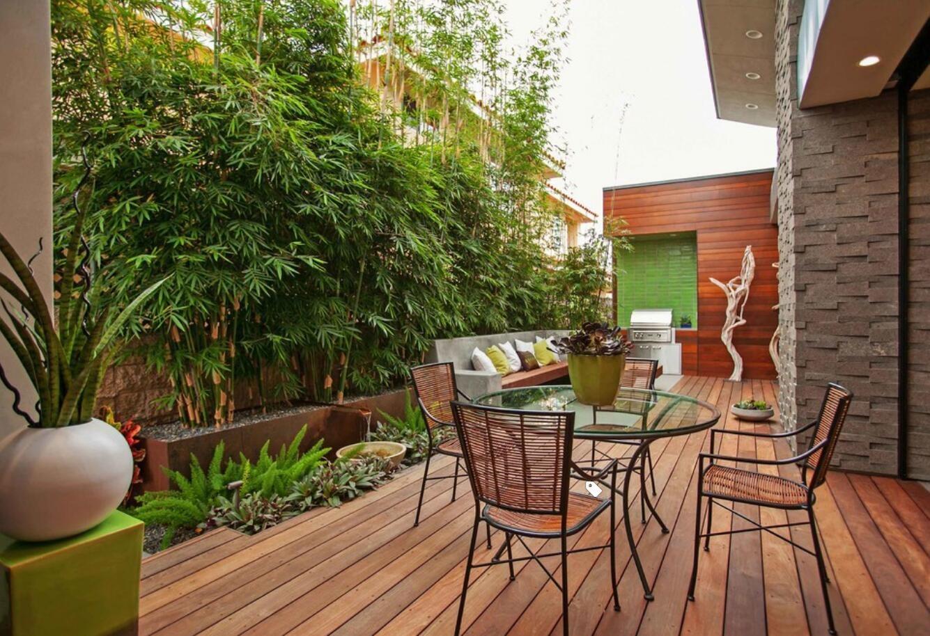 西安庭院设计:庭院中栽上几颗竹子,打造气质庭院,即是诗也是远方!