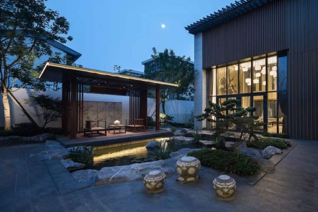 西安中式庭院景观设计的六种必备要素,你了解吗?