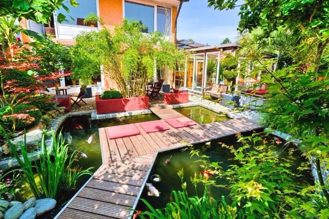 别墅庭院景观施工流程详解