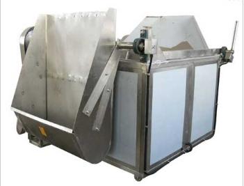 邳州市/新沂市電加熱油炸機新式油水混合油炸機的特點