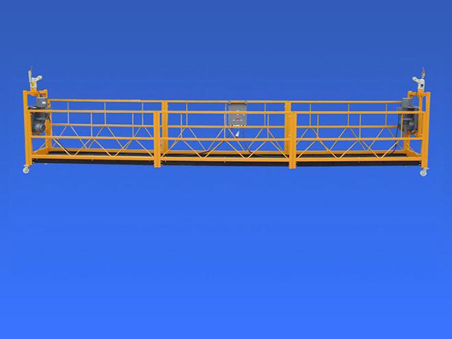 关于泉州桥梁吊篮施工三重防护设施的介绍