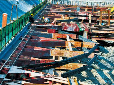 福建基坑支护-城东钢结构支撑2