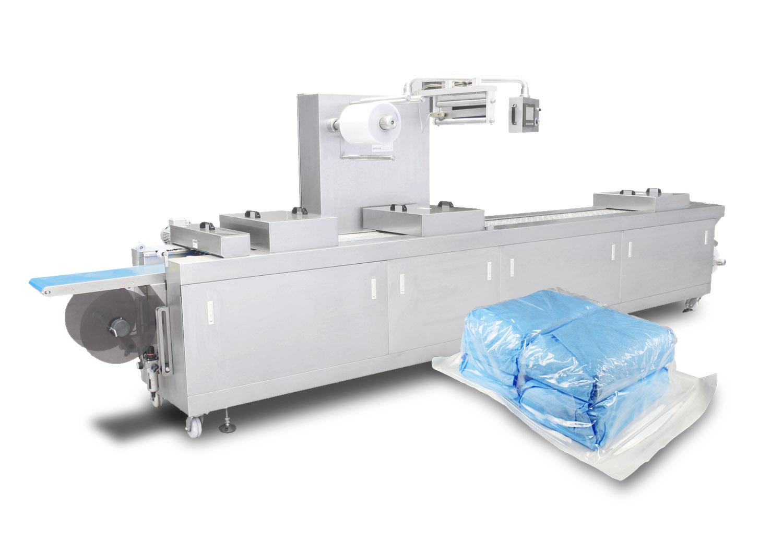 连续滚动真空包装机的优势--山东全自动真空包装机厂家
