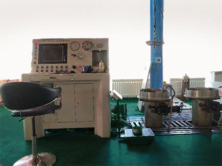 复合气瓶水压试验设备