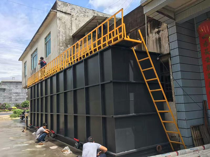工业污水处理设备进行反清洗的方法