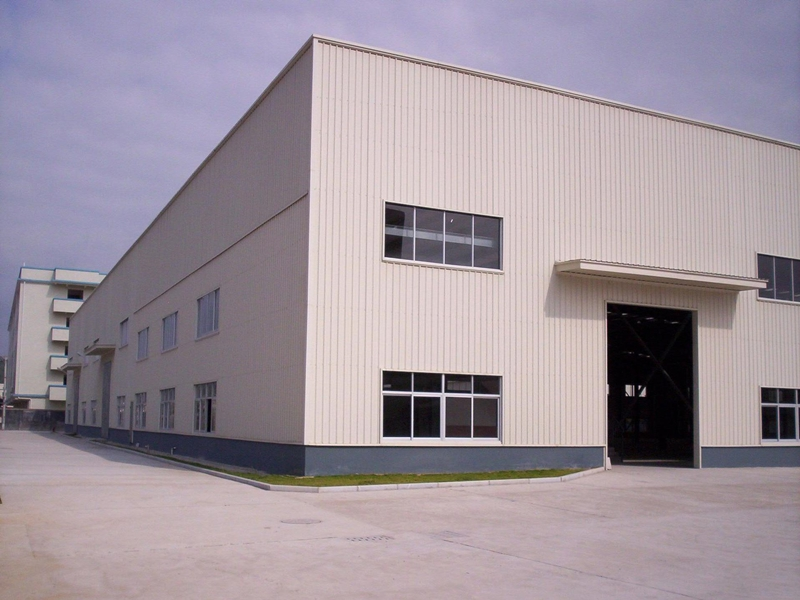 彭山钢结构厂房施工