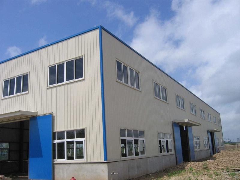 眉山钢结构厂房施工