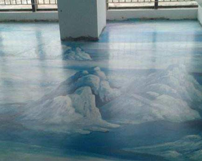 福州艺术地坪