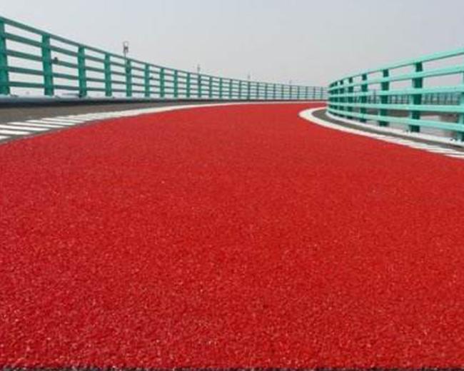 福州彩色防滑路面