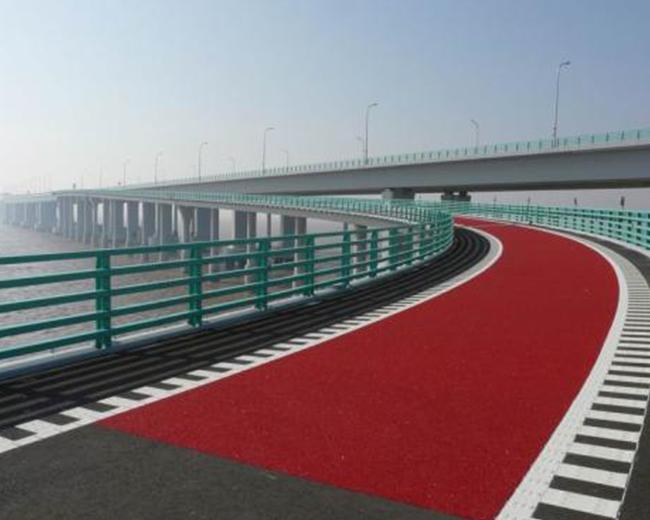 环氧彩色防滑路面标线