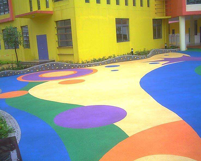 福州幼儿园户外地坪