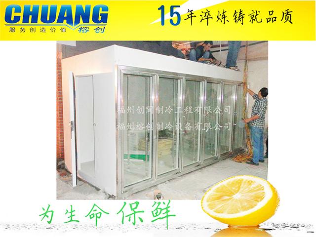 福建食品冷库循环再减温运行