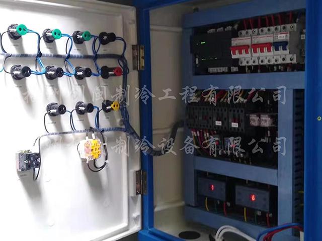 永辉浦新店风冷式冷水机组维修