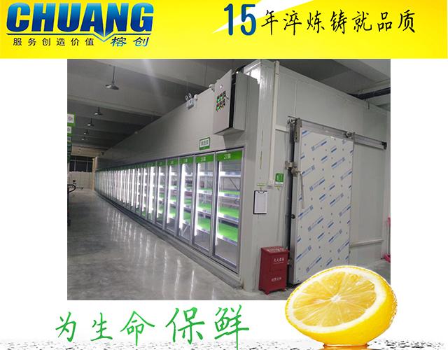 福州冷库保养保鲜冷库制冷量不足的原因以及解决办法