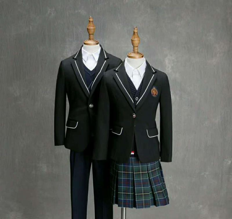 咸阳学生西装校服