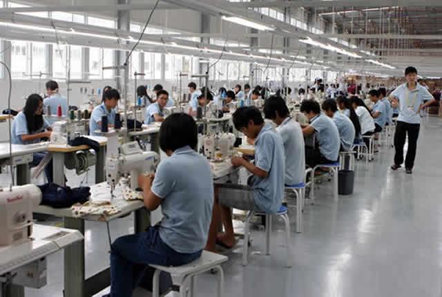 咸阳制衣公司