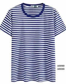 海洋竹节棉T恤