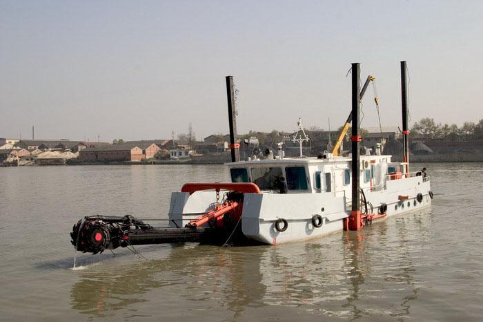 什么是清淤设备—绞吸式挖泥船