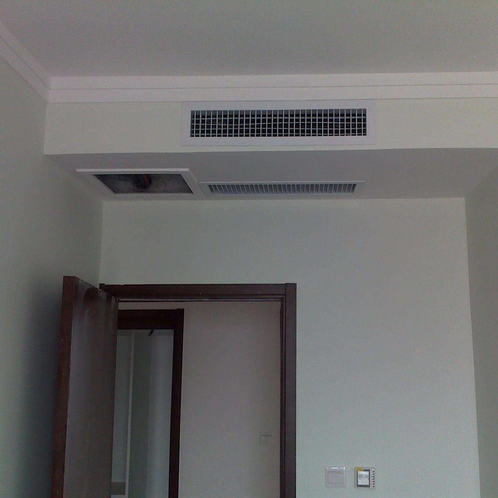 眉山家用中央空调施工案例