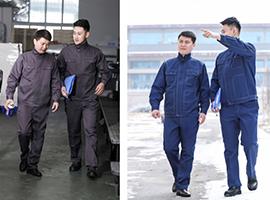 西安工作服定做认准西安睿凡服饰