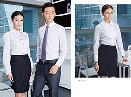 男女商务衬衫套装