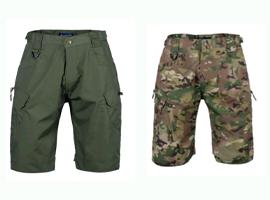 夏季战术短裤迷彩作训服