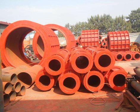 大连/沈阳讲讲水泥制管模具零件材料应该如何放置