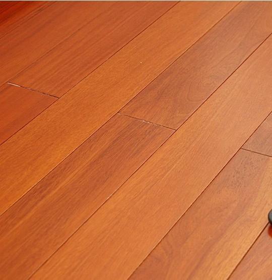 云南缅甸柚木原木地板厂家实拍