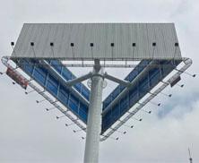 高速路单立柱广告牌有哪些优势