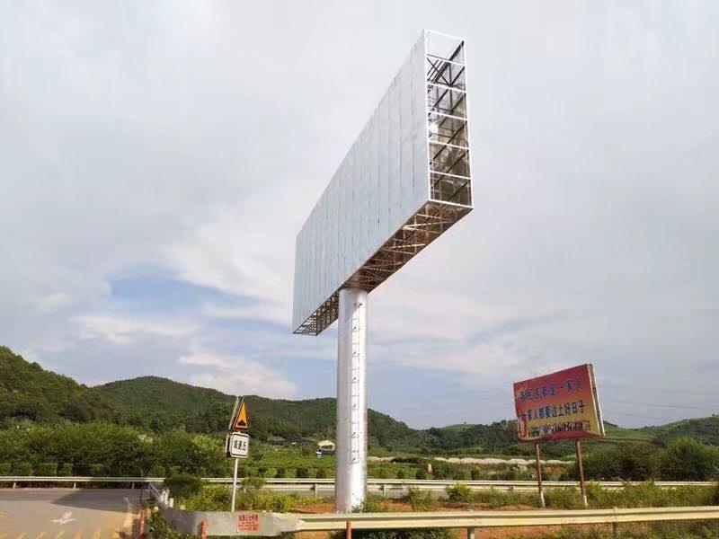 贵州盘州15颗高要求高难度单立柱工程案例贵州盘州15颗高要求高难度单立柱工程案例