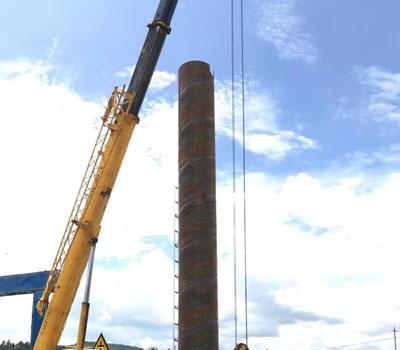 文山11颗单立柱工程案例3