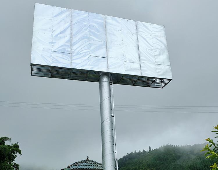 单立柱广告制作