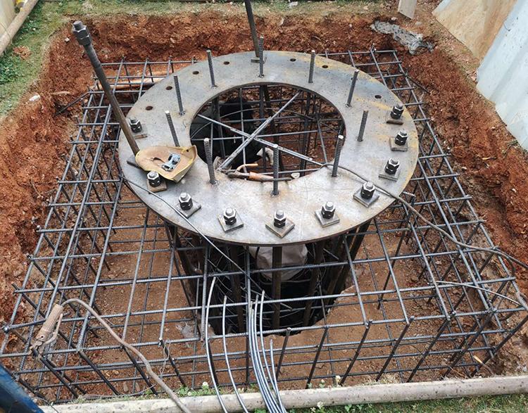 玉溪市兰溪湖畔单立柱工程案例