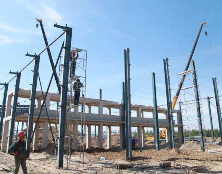 云南钢结构厂房施工