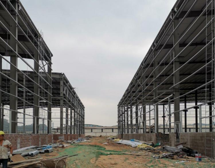 云南钢结构生厂车间厂房工程