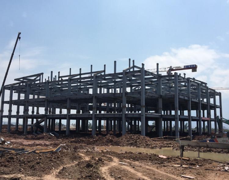 云南多层钢构工程实例